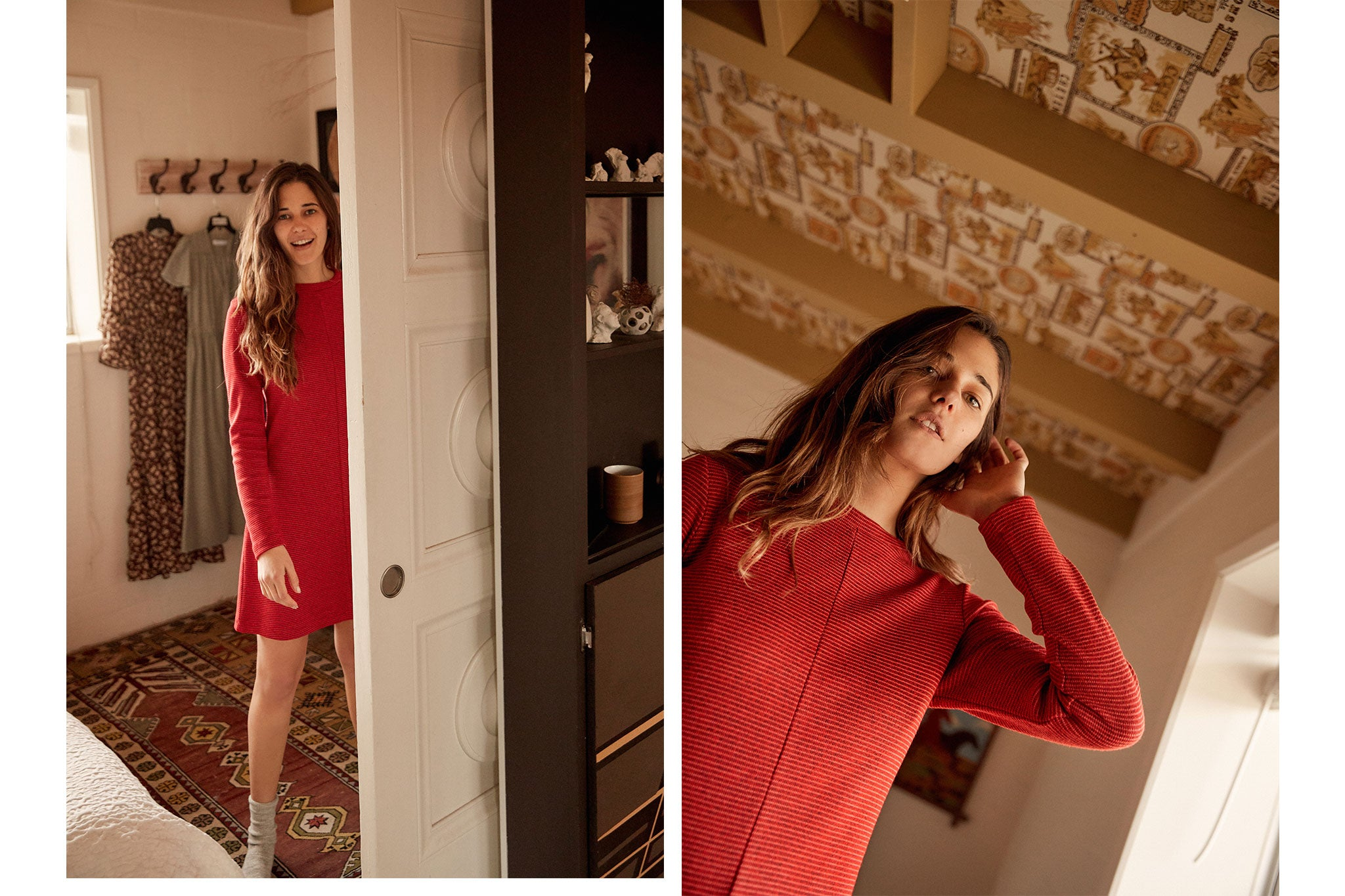 The Abby Dress | Scarlet Knit