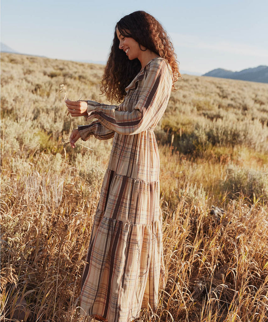 The Alana Dress | Harvest Plaid