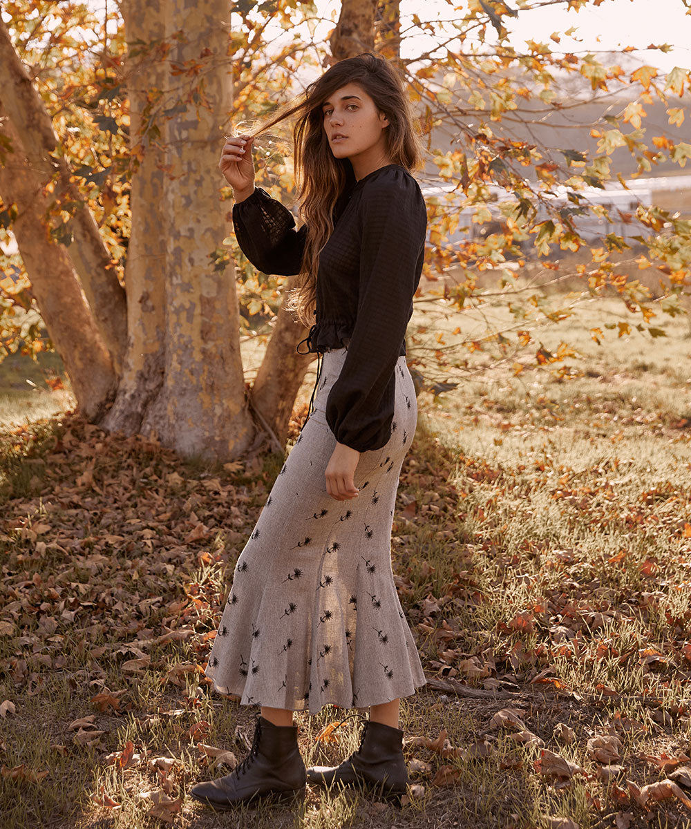 The Alma Skirt | Dandelion Embroider