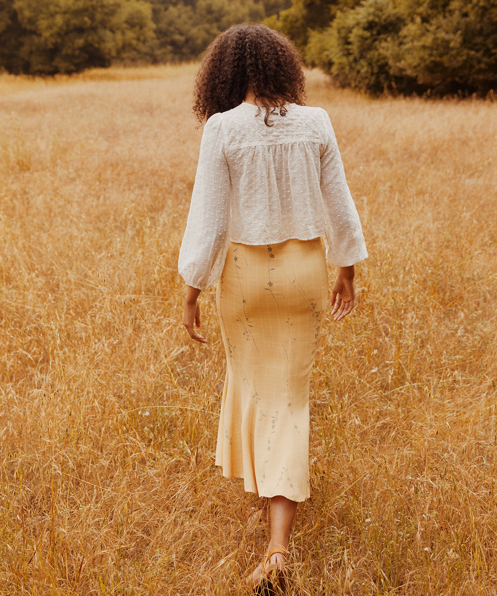 The Alma Skirt | Custard Vine