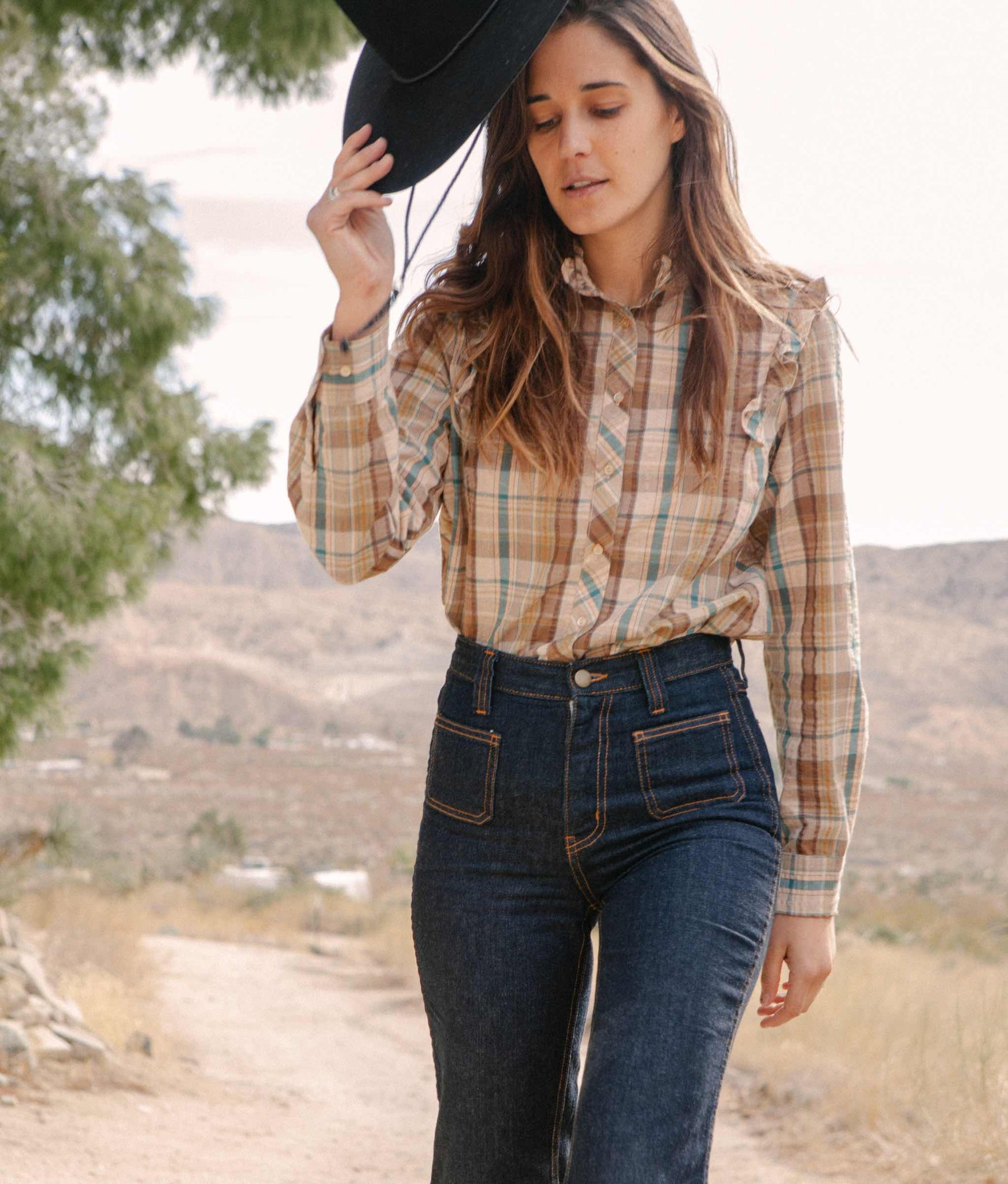 The Annie Top | Rookwood Plaid
