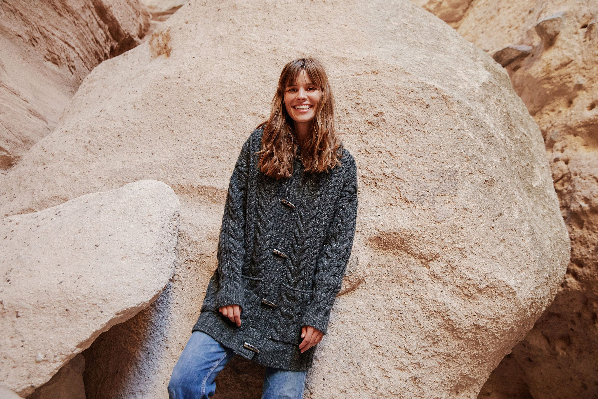 The Arlo Sweater | Driftwood