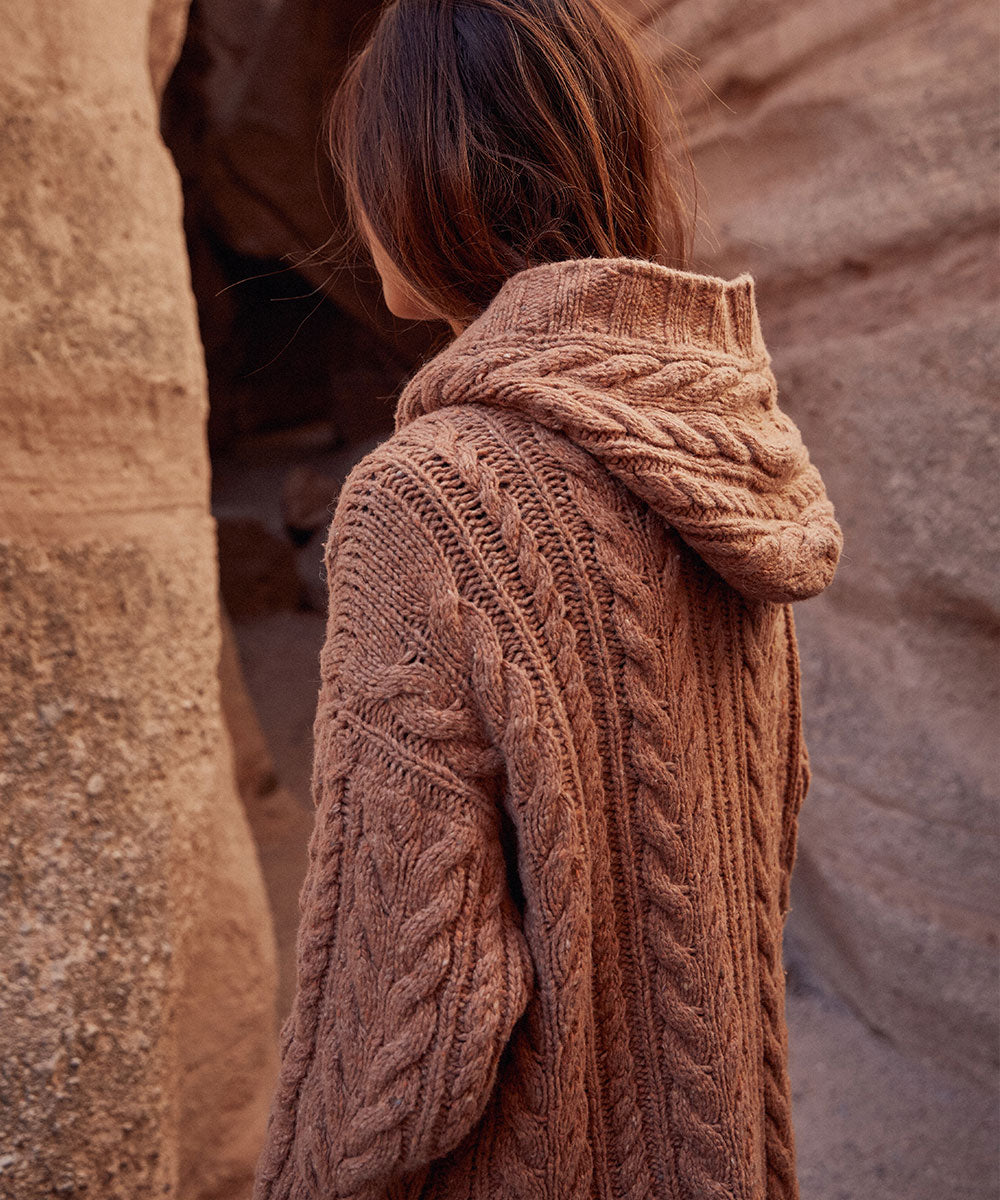 The Arlo Sweater | Washed Clay