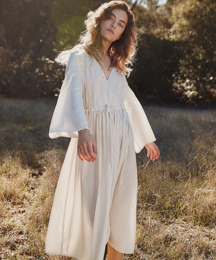 The Aster Dress Petites | Ivory Ditsy image 4
