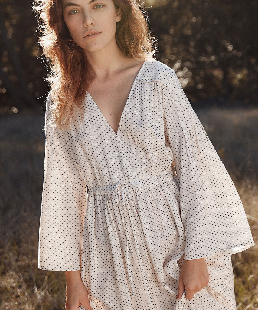 The Aster Dress Petites | Ivory Ditsy image 6