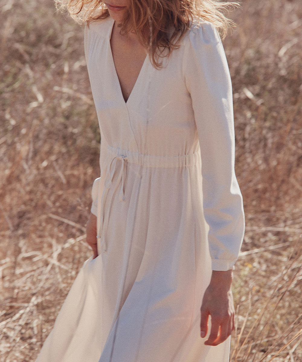 The Audrey Dress | Ivory