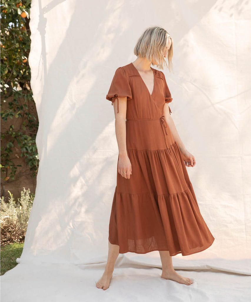 The Augusta Dress | Rust image 4