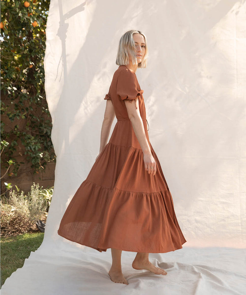 The Augusta Dress | Rust image 2