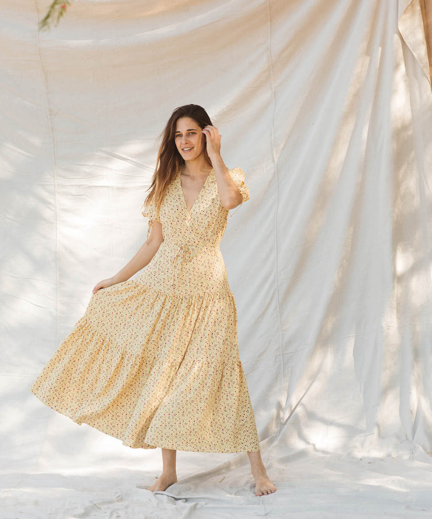 The Augusta Dress | Lemon Vine image 22