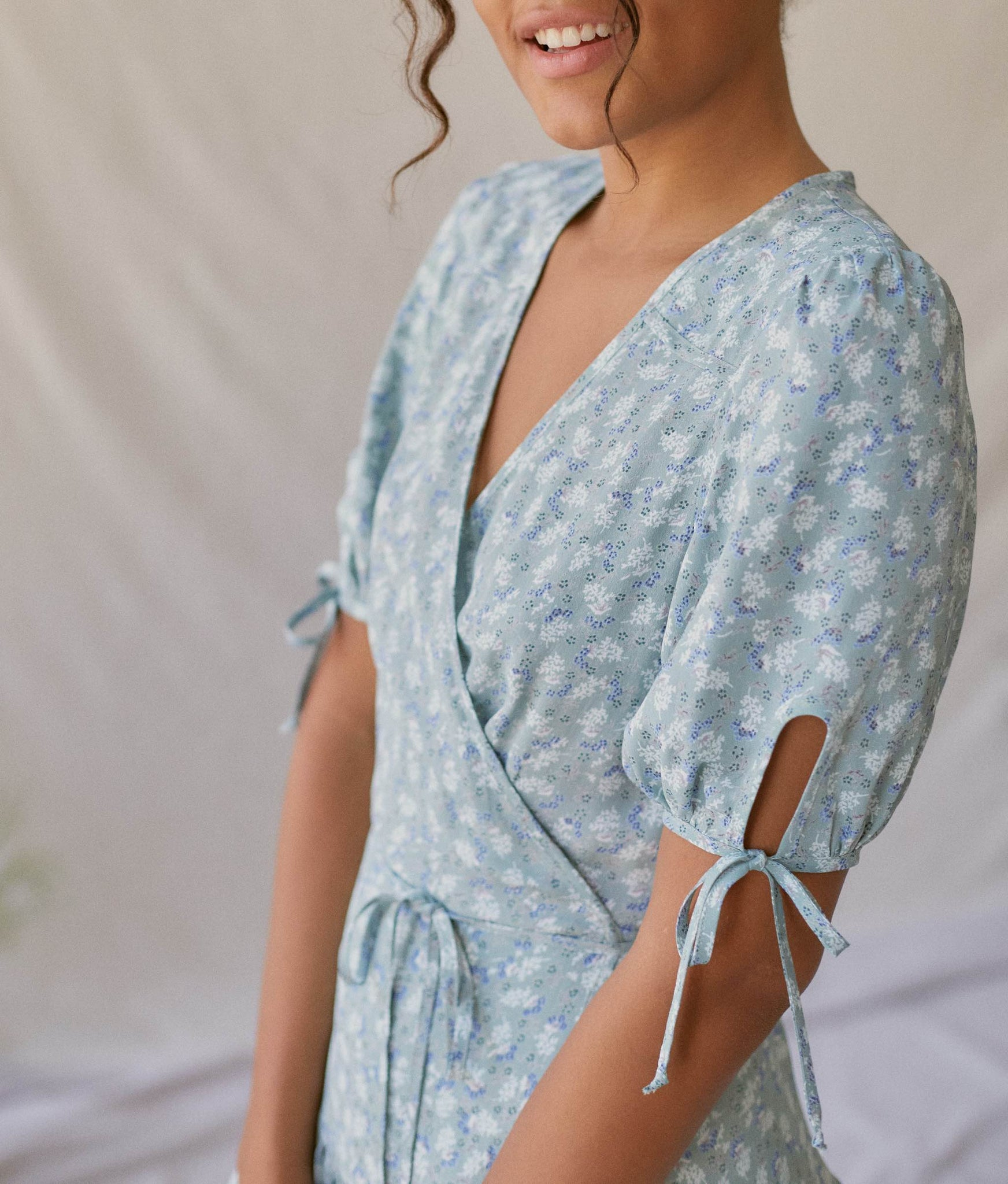 The Augusta Dress | Mint Floral