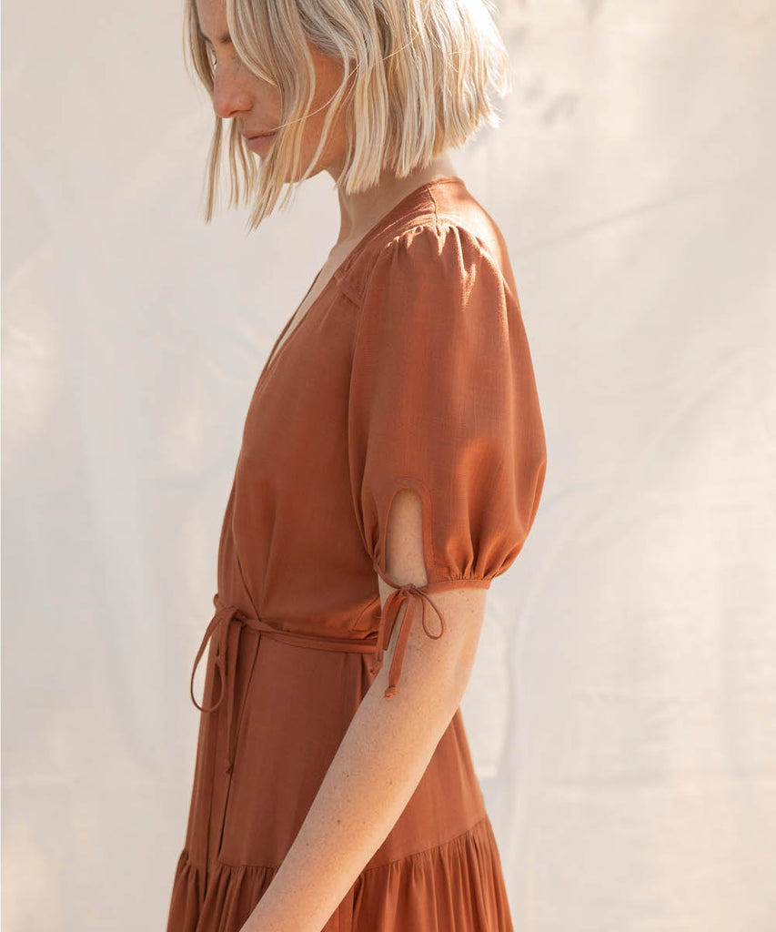 The Augusta Dress | Rust image 6