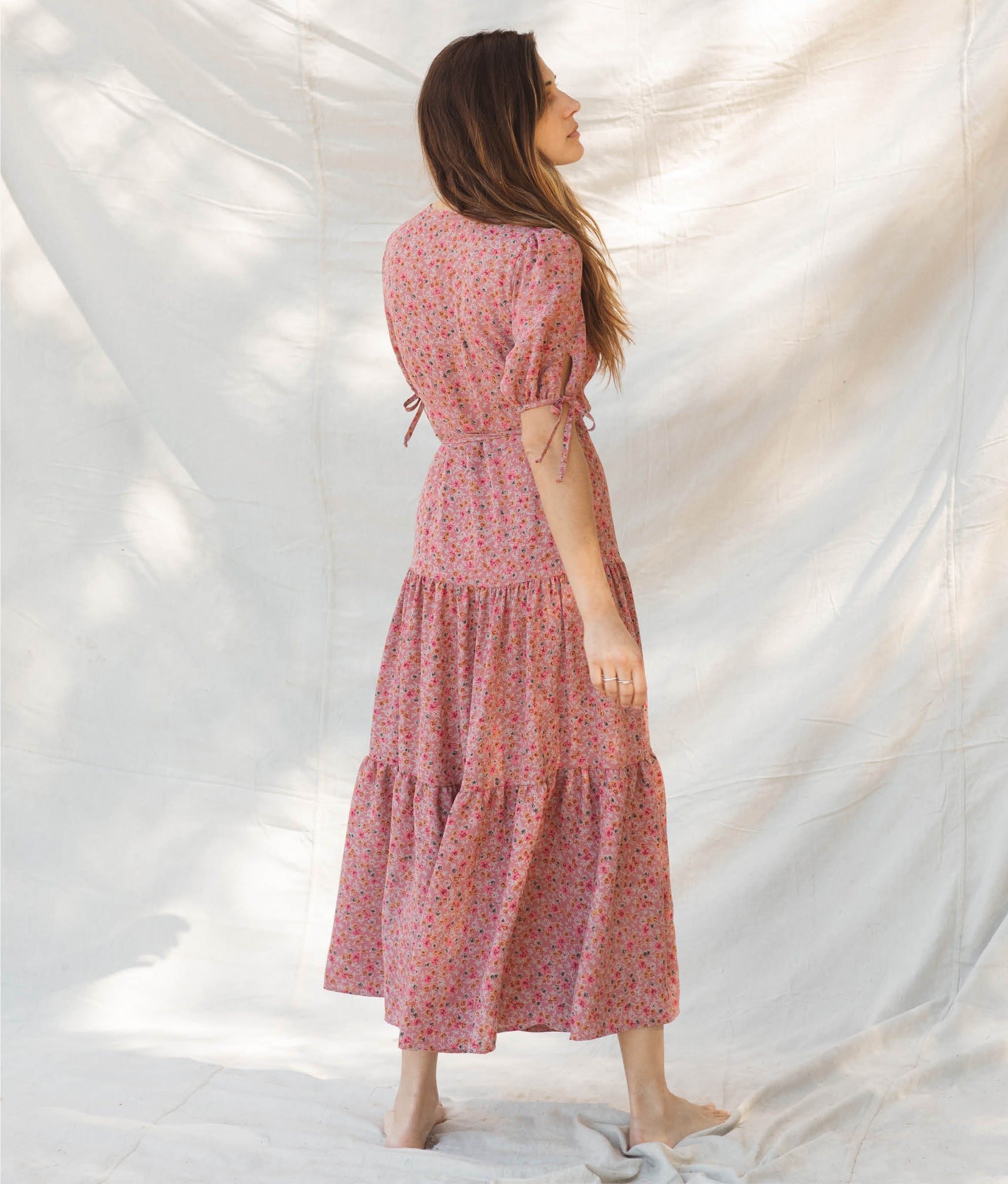 The Augusta Dress | Rosebush (3-of-a-Kind)