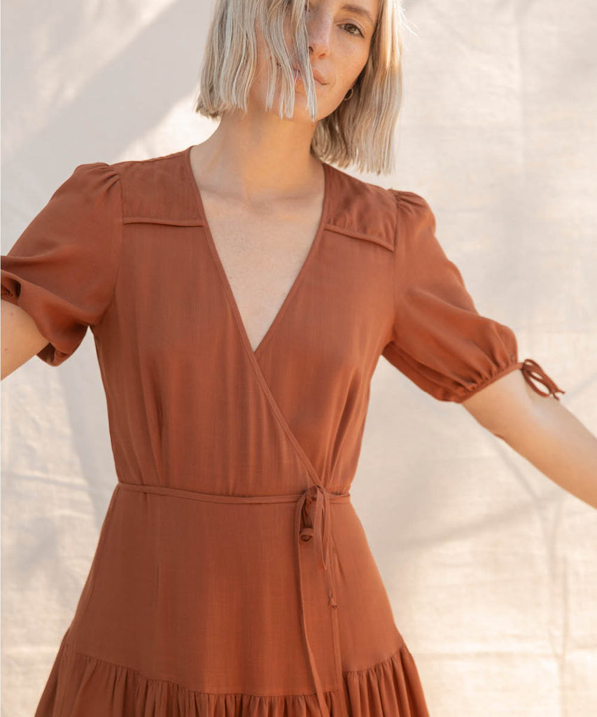 The Augusta Dress | Rust image 8