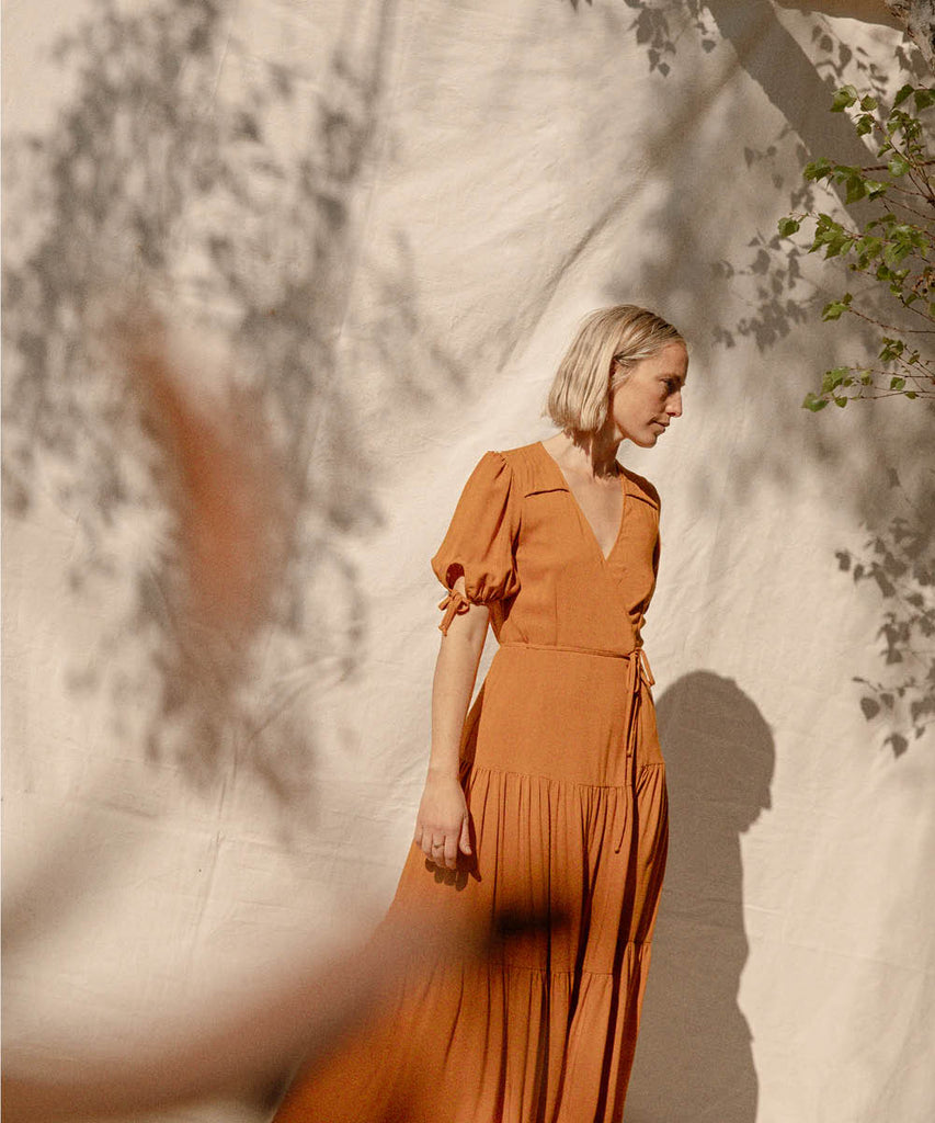 The Augusta Dress | Turmeric image 4