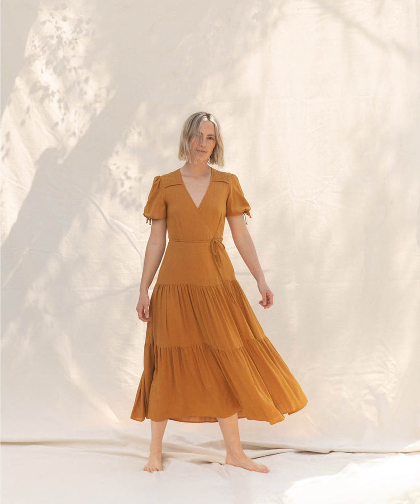 The Augusta Dress | Turmeric image 6