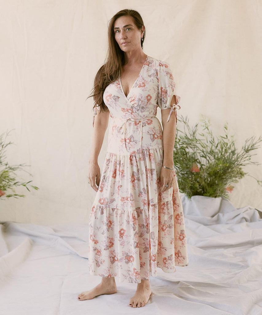 The Augusta Dress | Victorian Bloom (Imperfect)