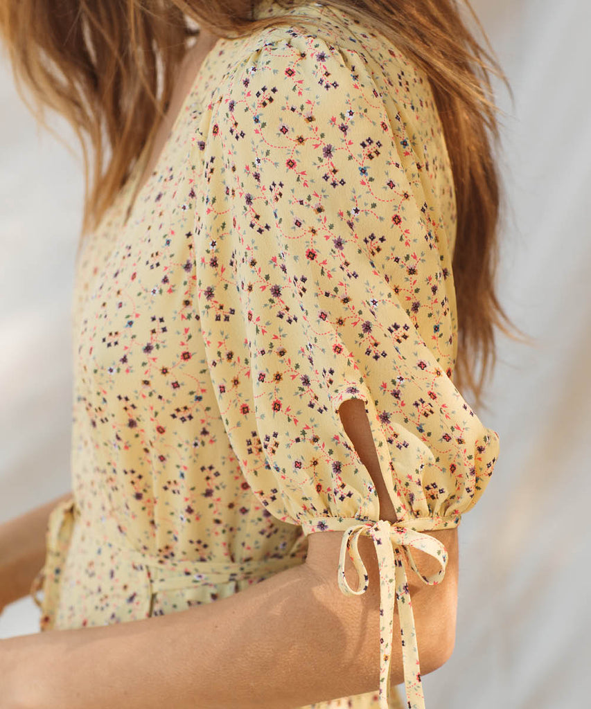 The Augusta Dress | Lemon Vine image 20
