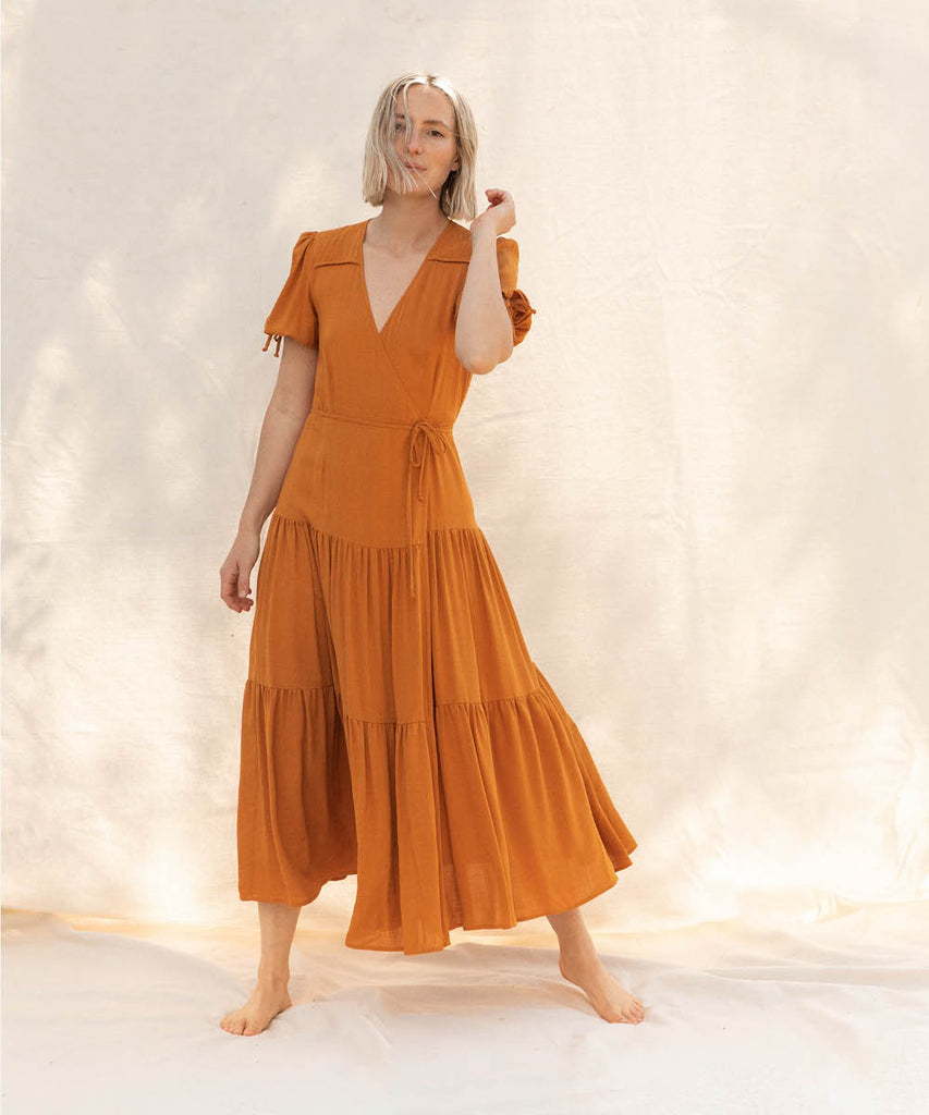 The Augusta Dress | Turmeric image 8