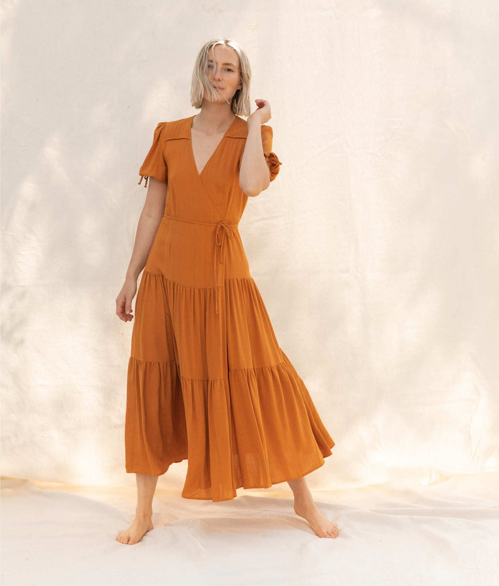 The Augusta Dress | Turmeric