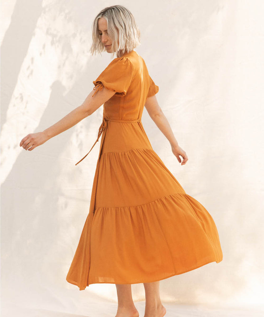 The Augusta Dress | Turmeric image 10