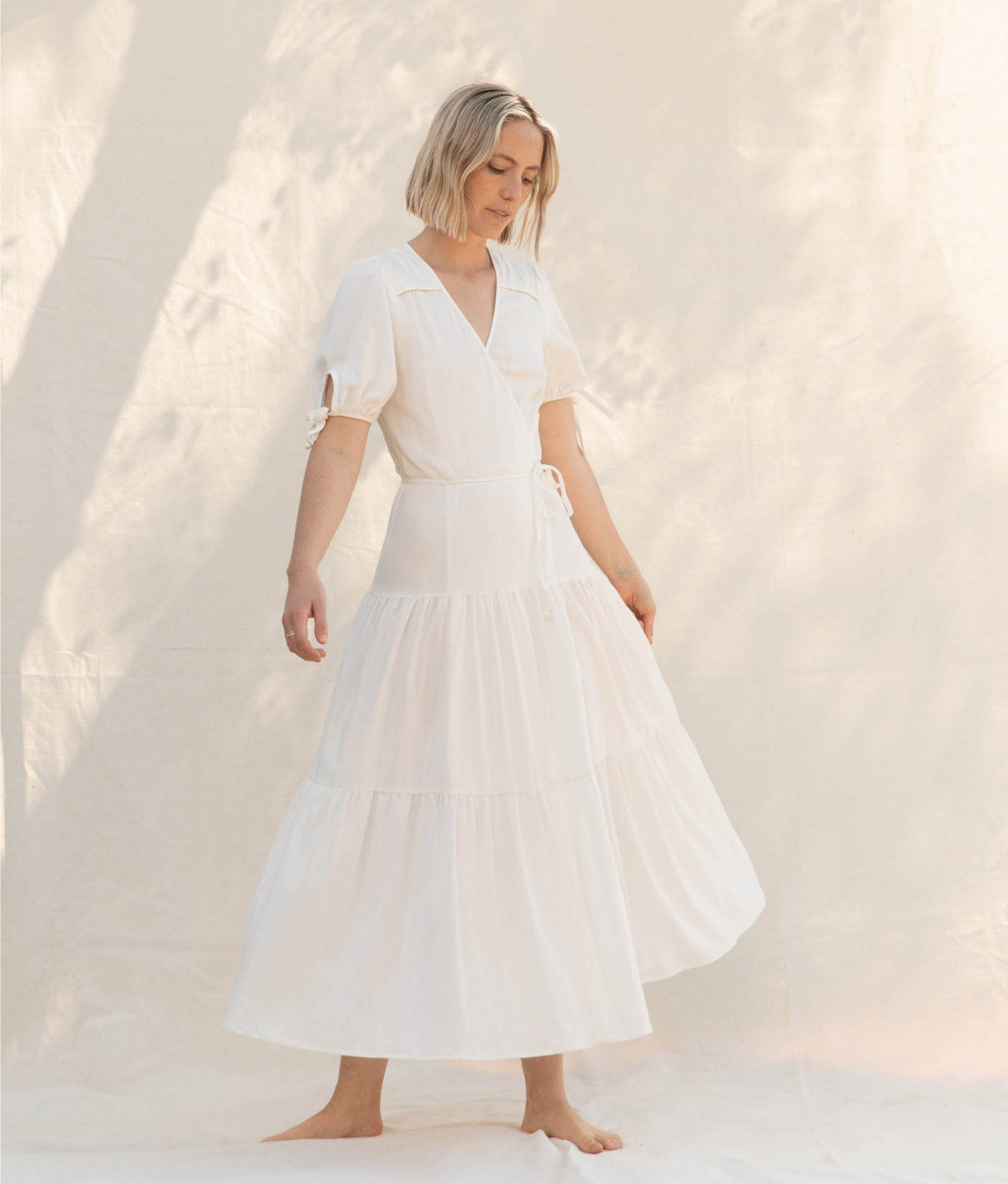 The Augusta Dress | Shell