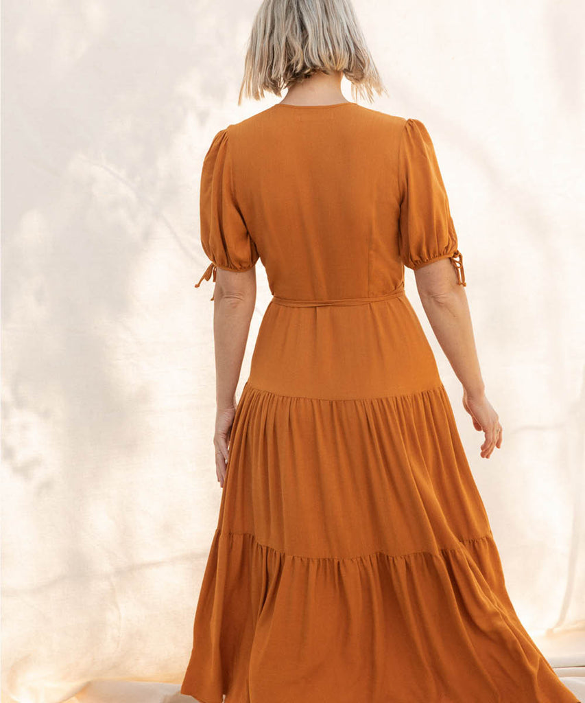 The Augusta Dress | Turmeric image 14