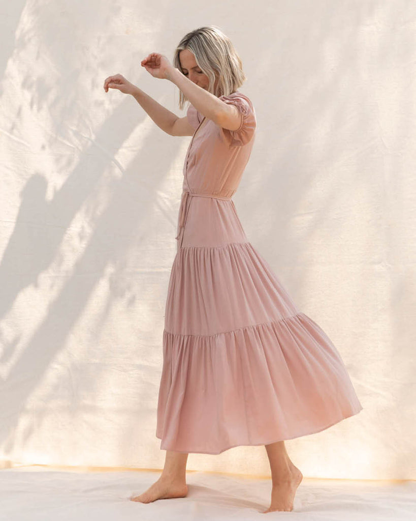 The Augusta Dress | Blush