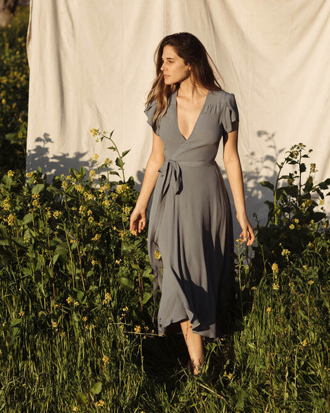 The Autumn Dress | Washed Pewter