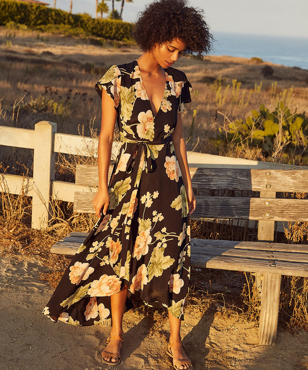 The Autumn Dress | Night Peony