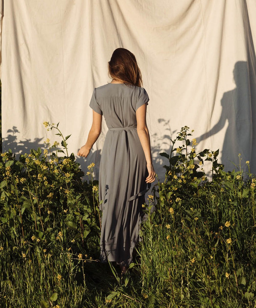 The Autumn Dress | Washed Pewter image 6