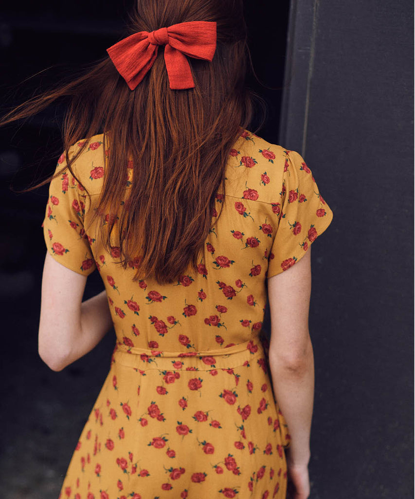The Autumn Dress | Turmeric Rose