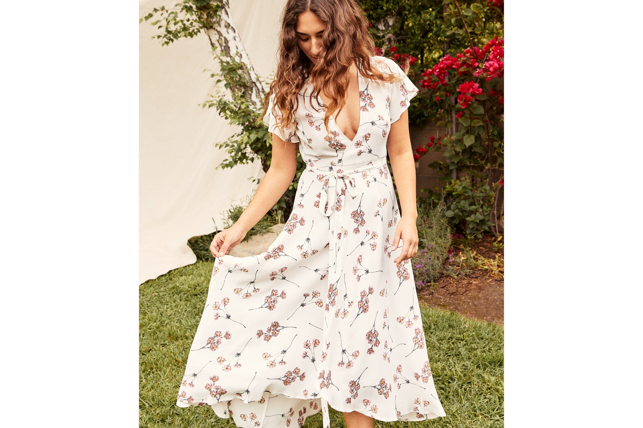 The Autumn Dress Petites | Tea Carnation