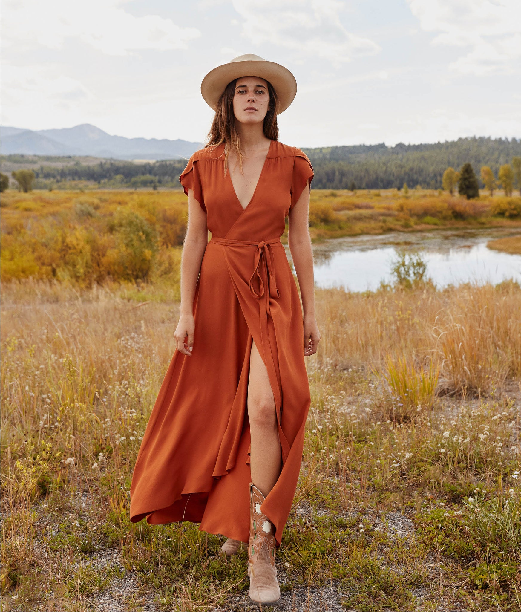 The Autumn Dress | Rust