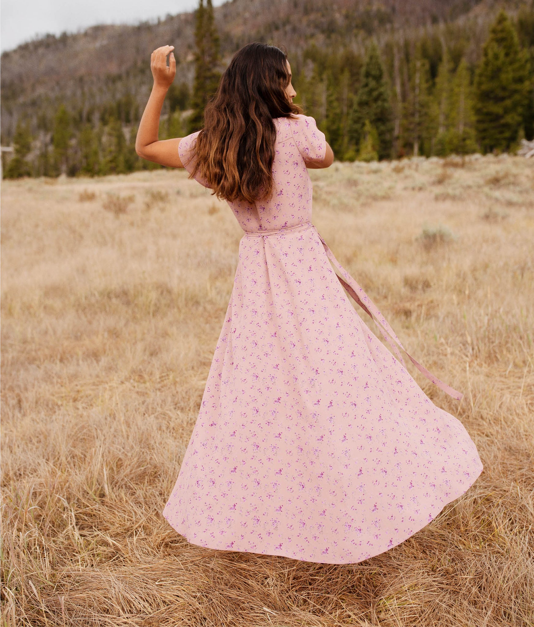 The Autumn Dress | Rose Floral