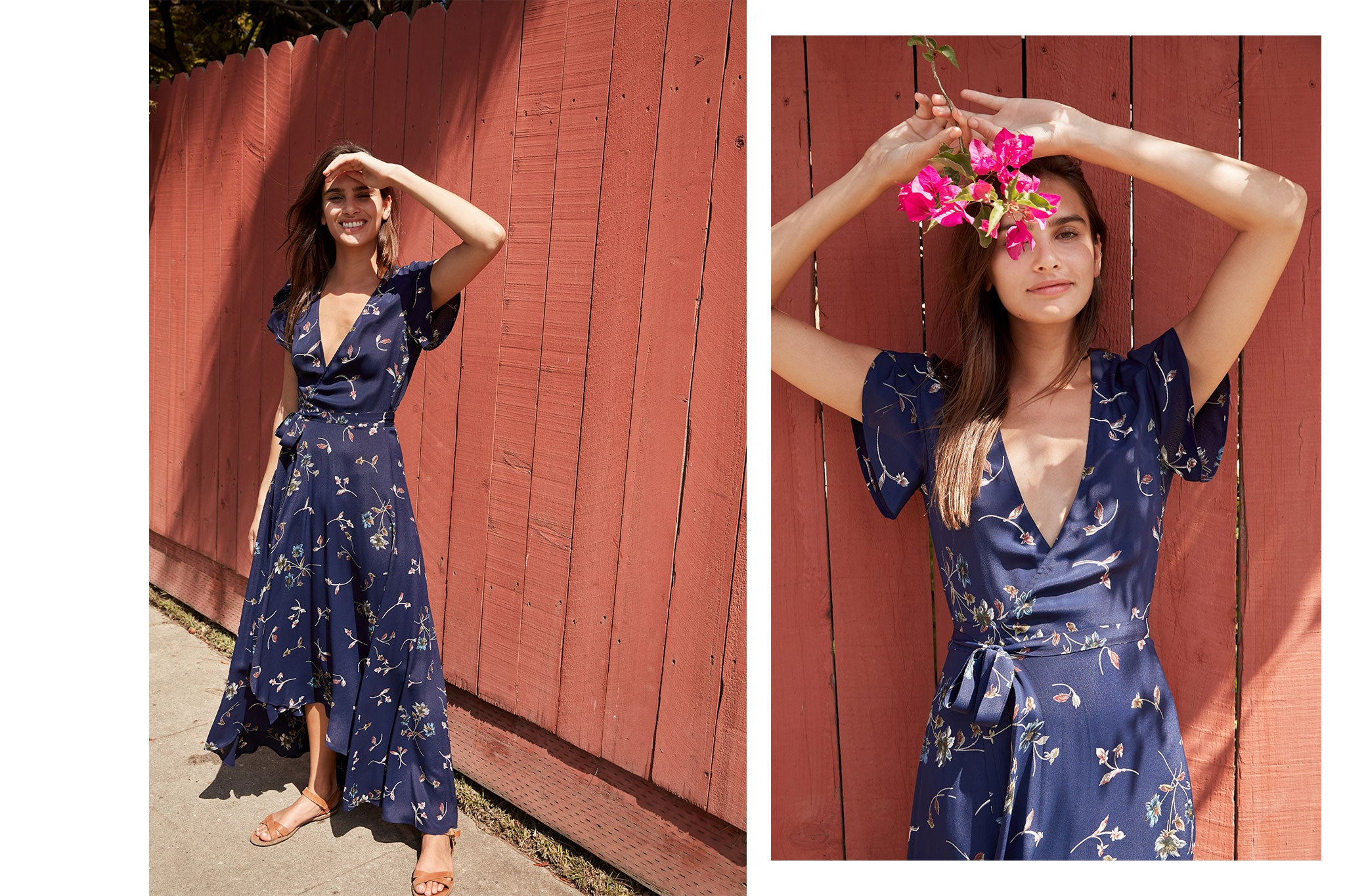 The Autumn Dress | Midnight Floral