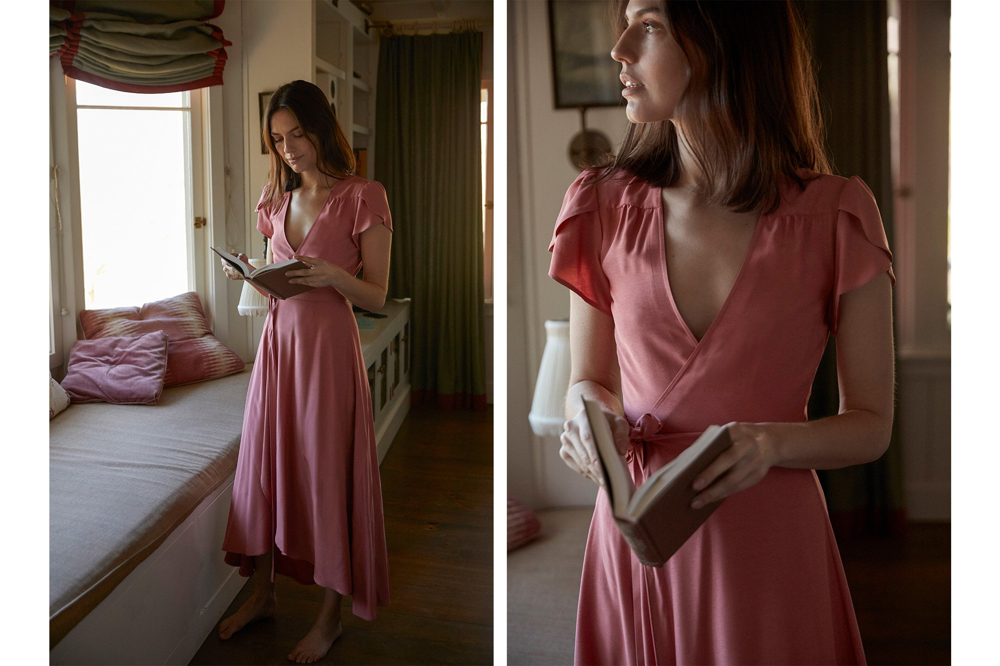 The Autumn Dress | Dusty Rose