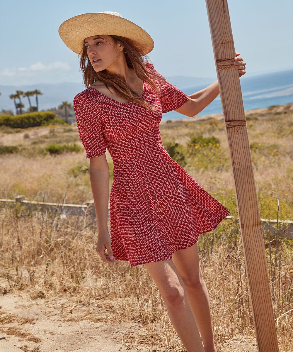 The Azalea Dress | Carmine Meadow