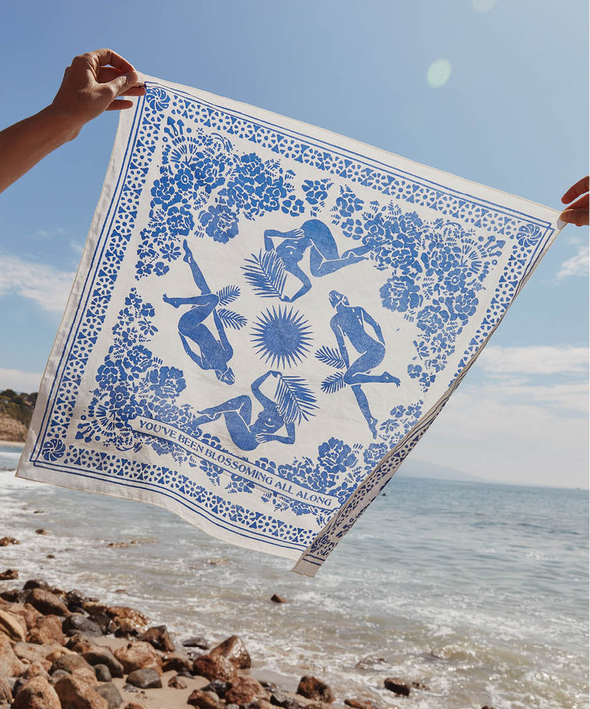 The Christy Dawn x Real Fun, Wow! Bandana | Shibori