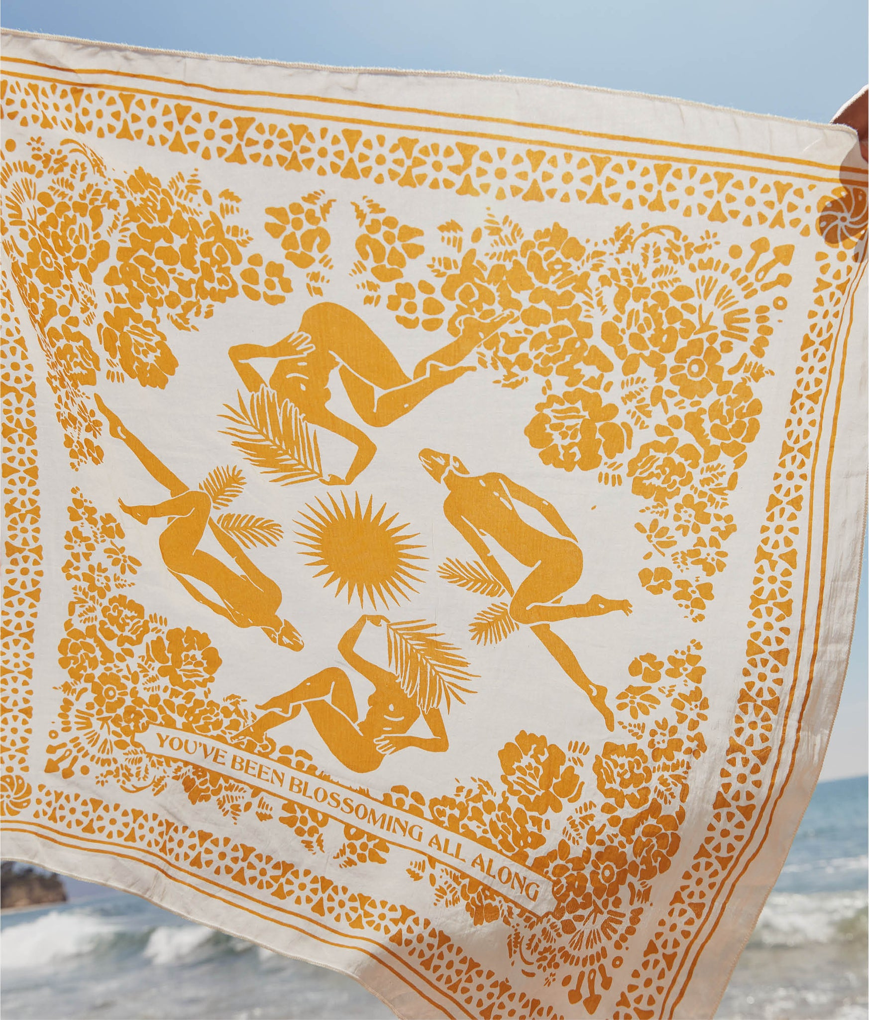 The Christy Dawn x Real Fun, Wow! Bandana | Turmeric