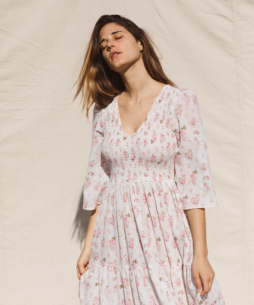 The Basil Dress | Oma Petal