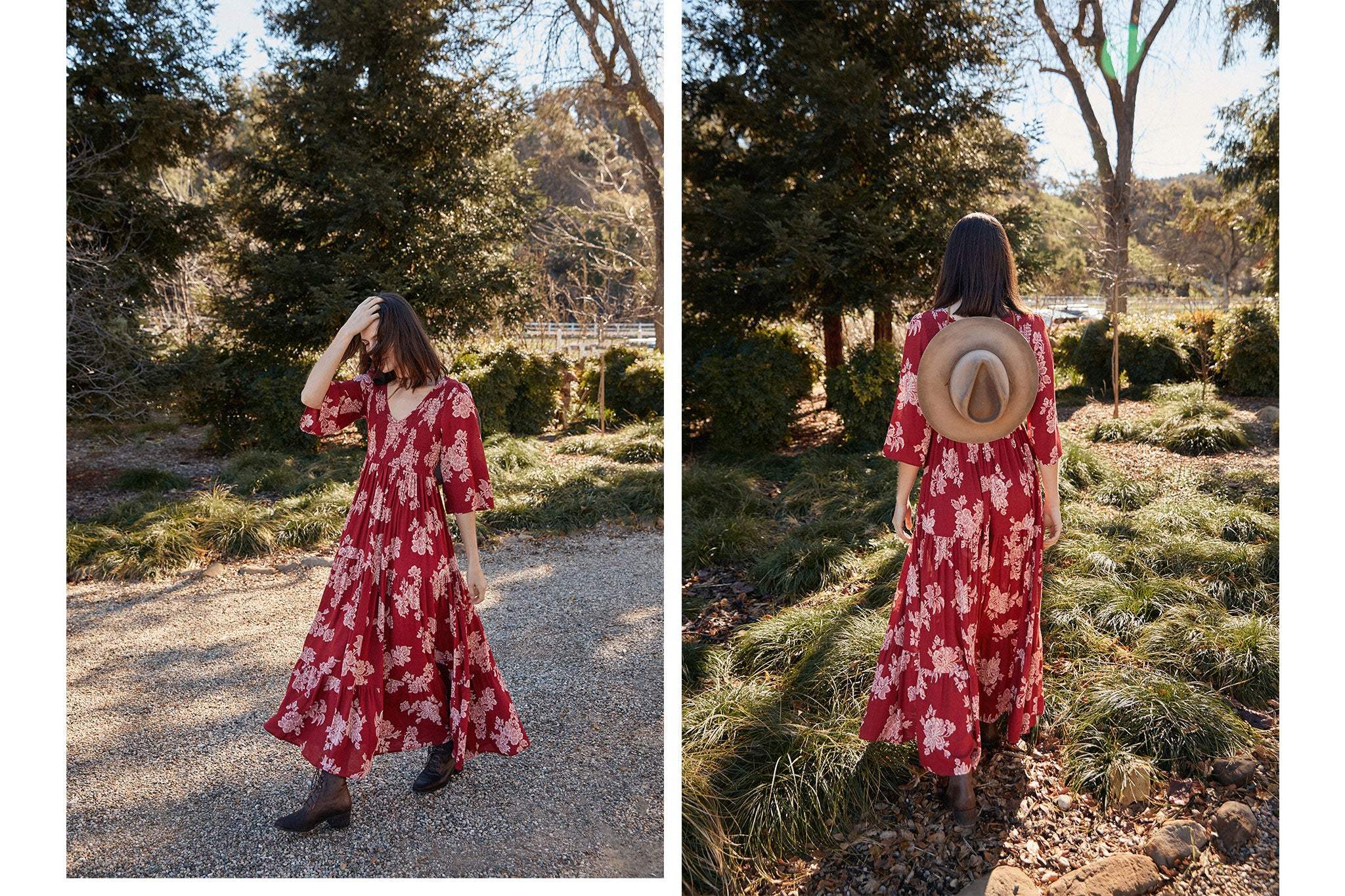The Basil Dress | Rouge Floral