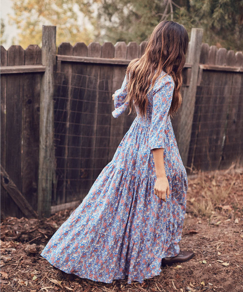 The Basil Dress | Dusk Roan