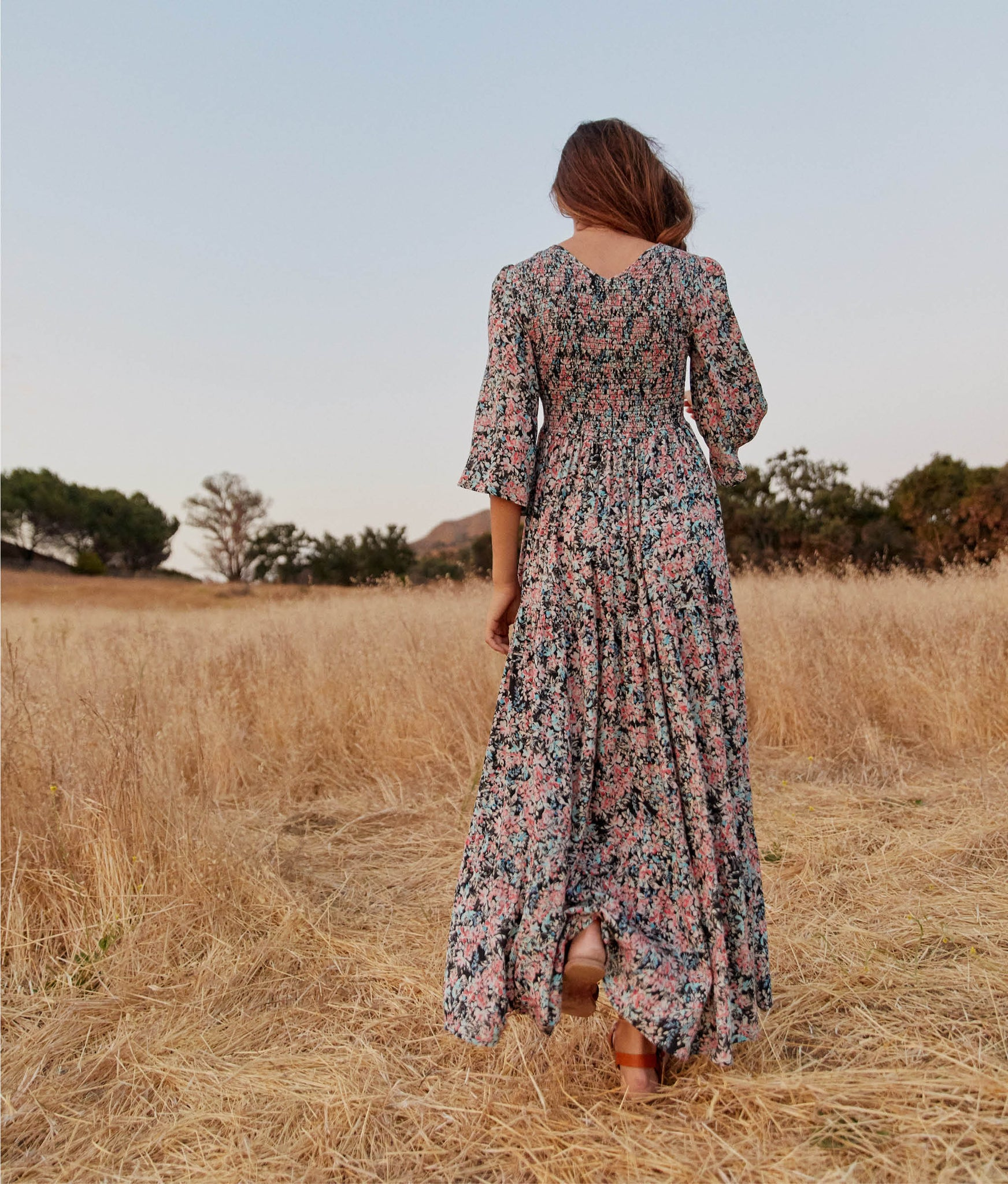 The Basil Dress | Aquarelle