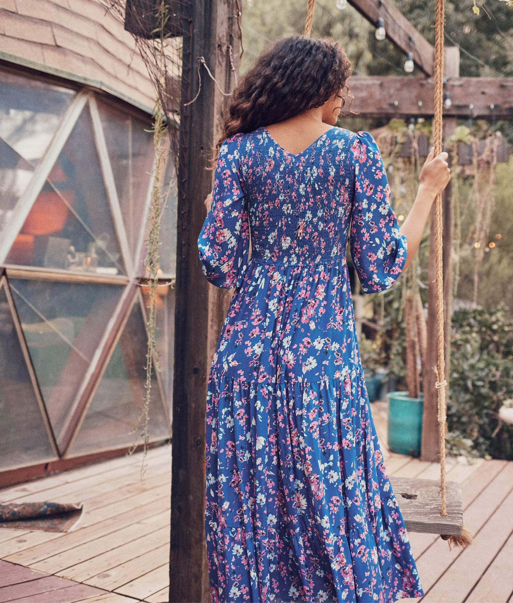 The Basil Dress | Garden Party