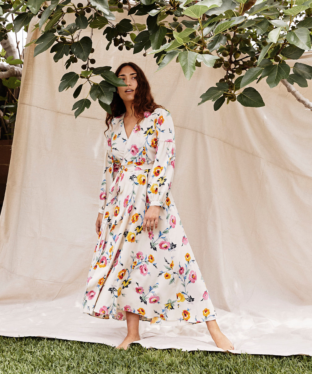 The Bergen Dress Petites | Desert Floral