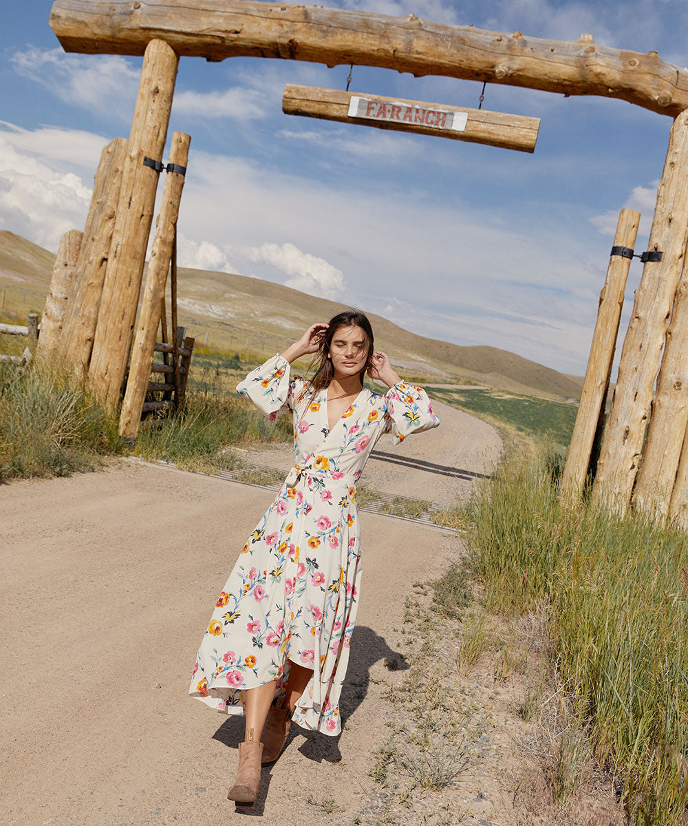 The Bergen Dress | Desert Floral