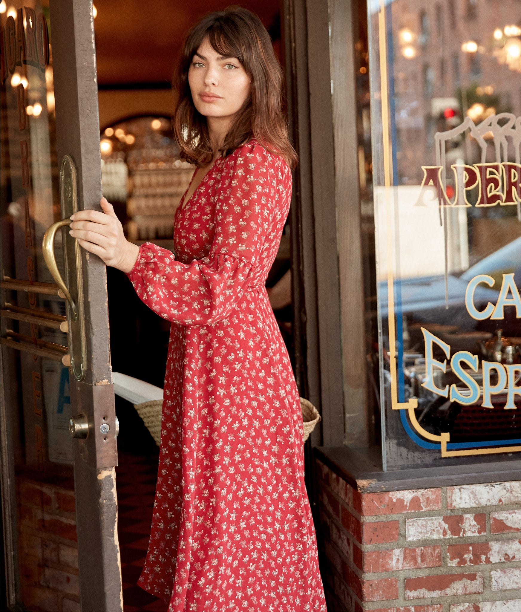 The Bergen Dress (Lined) | Oxblood Moon