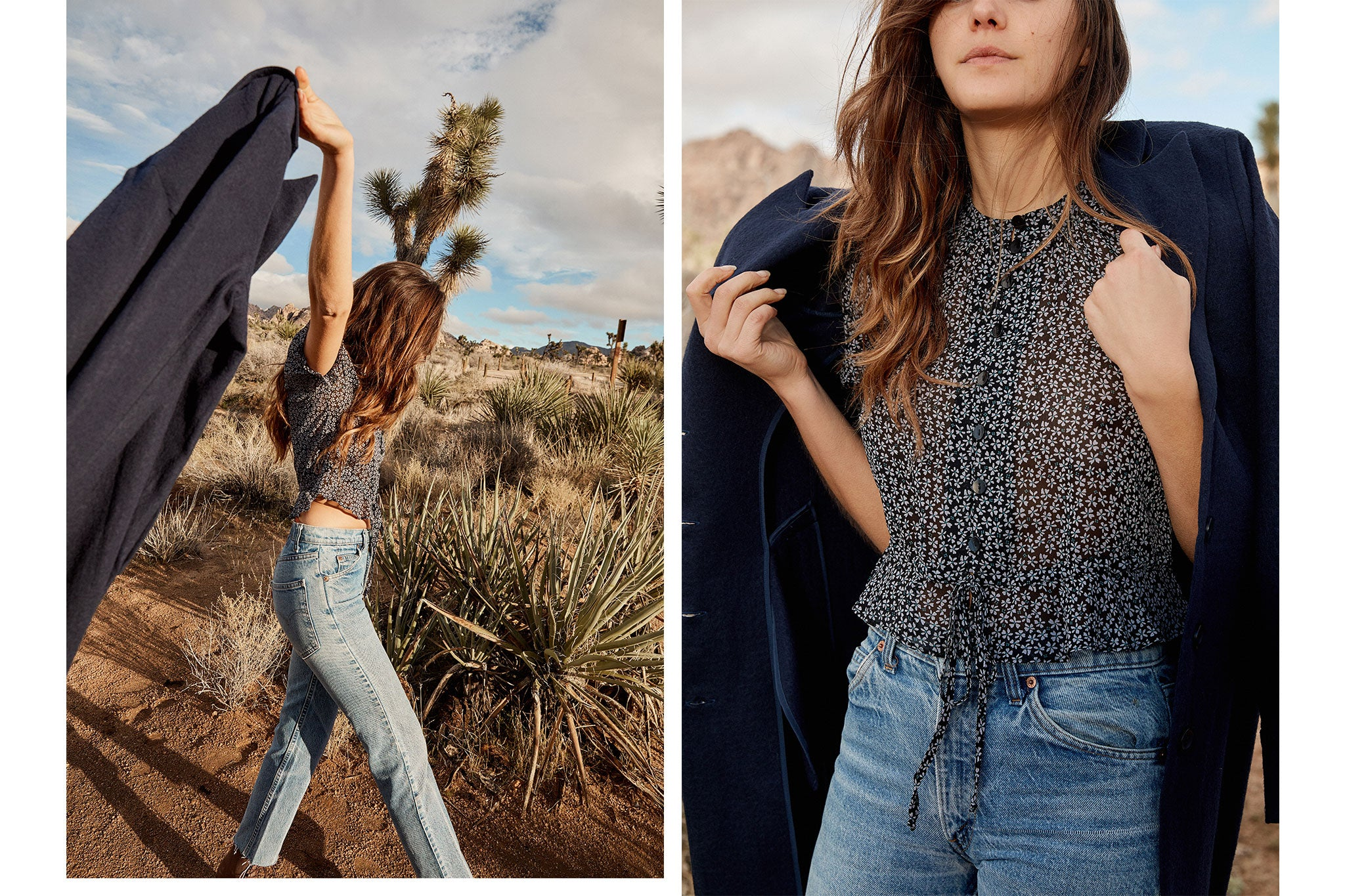 The Beverly Top | Charcoal Meadow