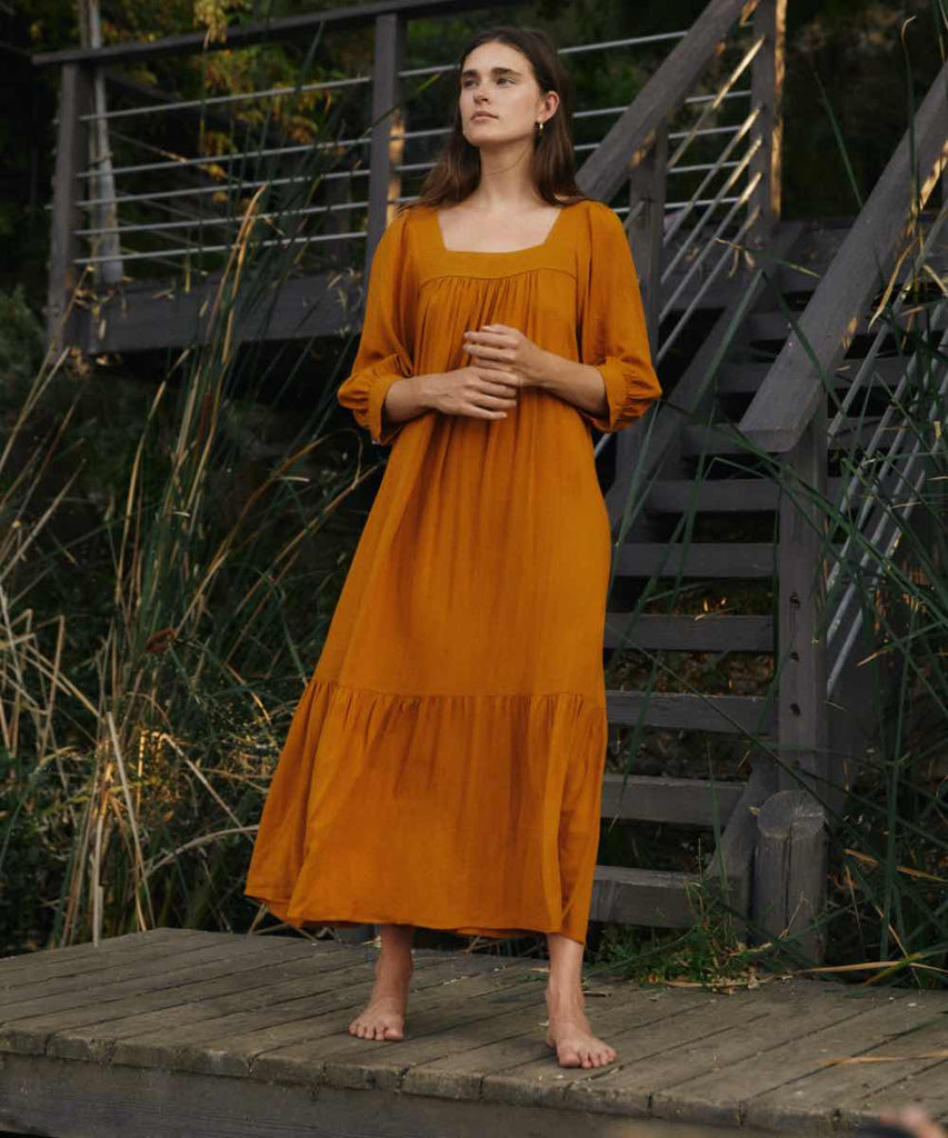The Bianca Dress | Turmeric