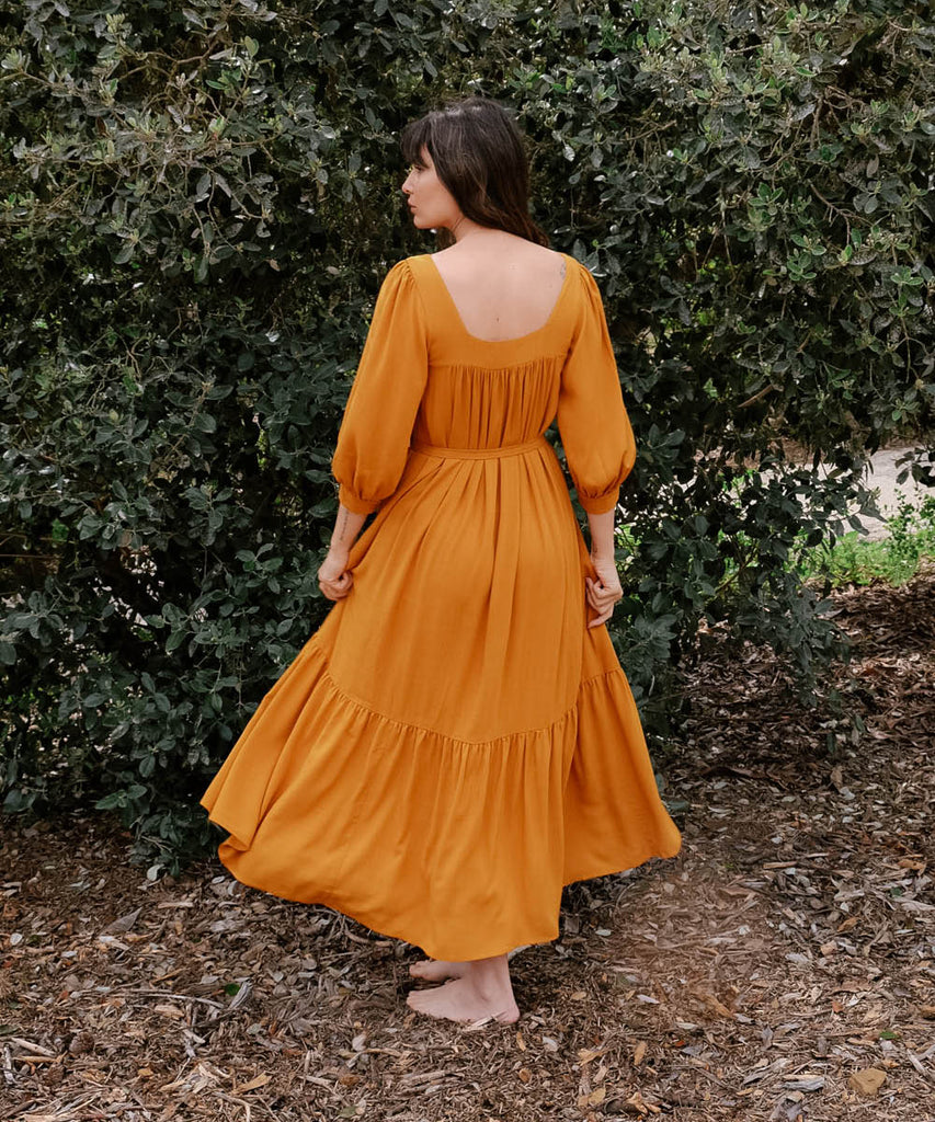 The Bianca Dress | Turmeric image 6